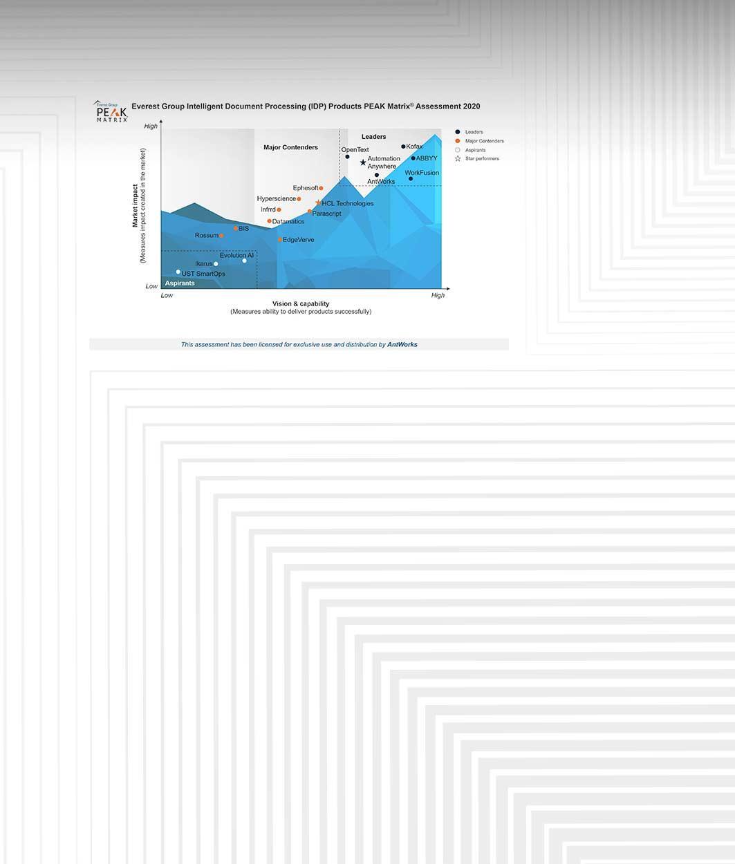 Everest Group's IDP Peak Matrix Report